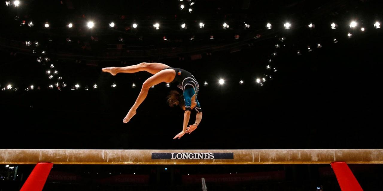 Tipos de acrobacias na Ginástica Artística
